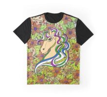 Colouring Book Horse 03 Graphic T-Shirt