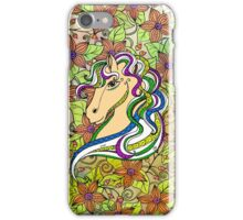 Colouring Book Horse 03 iPhone Case/Skin