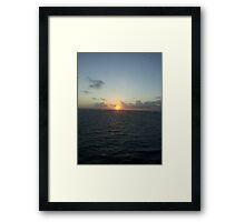 carribean Framed Print