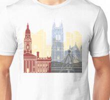 Bolton skyline poster Unisex T-Shirt