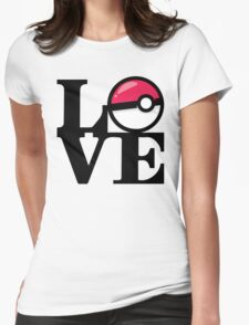 Love Poke Womens Fitted T-Shirt