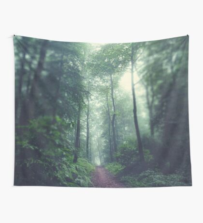 Waldweg - Forest Path Wall Tapestry