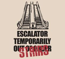 Escalator Temporarily Stairs by jezkemp
