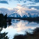 Early morning at Oxbow Bend by Eivor Kuchta