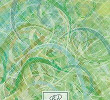 Green Abstract Print by Hannah94