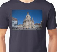 Germany. Dresden. Frauenkirche. Unisex T-Shirt