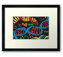 Cosima's Laptop Cover Texture Framed Print
