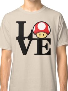 Love Power-Up Classic T-Shirt