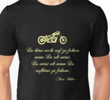 Free Biker Unisex T-Shirt