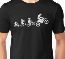 Evolution To Biking Extreme Biker Cycling,Funny Gift For Biking Lover Unisex T-Shirt