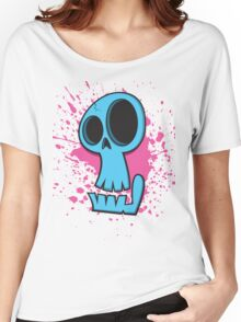 Funky Skull Women's Relaxed Fit T-Shirt