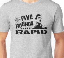 Five Rounds Rapid Unisex T-Shirt