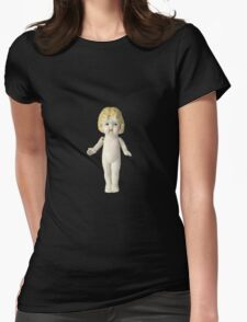 The Adventures of Claudia Doll Womens Fitted T-Shirt