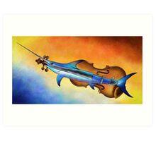 Fisholin V1 - instrumental fish Art Print