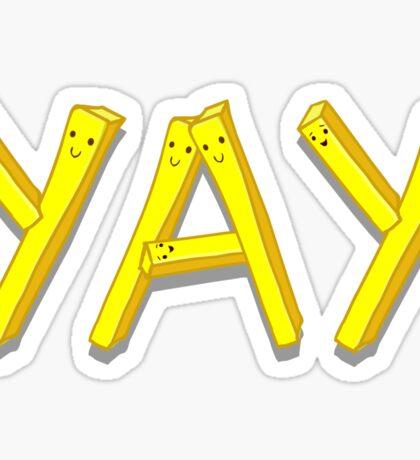 FryYAY! Sticker