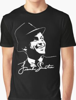 Frank Sinatra - Portrait and signature Graphic T-Shirt