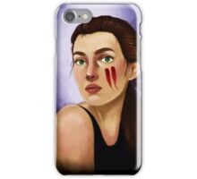 Feathers in her hair iPhone Case/Skin