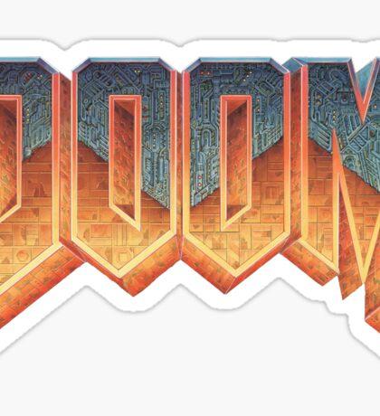 DOOM (Logo) Sticker