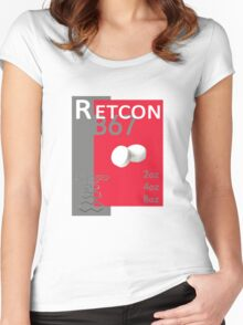 The Retcon Box Women's Fitted Scoop T-Shirt