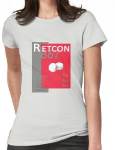 The Retcon Box Womens Fitted T-Shirt