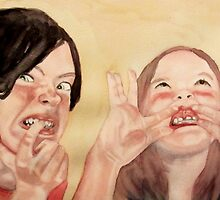 favourite little monsters by Claudia Dingle
