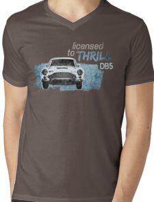 NEW Men's Classic Sports Car T-shirt Mens V-Neck T-Shirt
