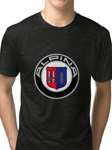 Alpina - Classic Car Logos Tri-blend T-Shirt