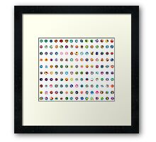 150 - Pokemon Original  Framed Print