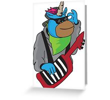 Keyboard wizard Greeting Card
