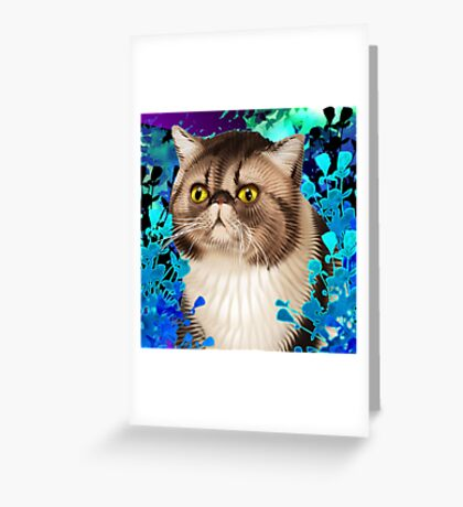 Sommer of Snootypuss Greeting Card