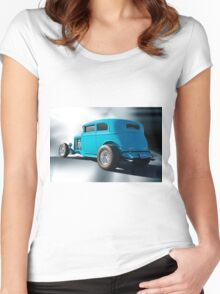 1932 Ford Victoria Women's Fitted Scoop T-Shirt