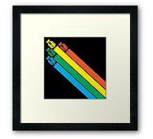 CHAMPIONSHIP SPRINT - CLASSIC ARCADE GAME Framed Print