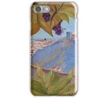 Between the vineyard  iPhone Case/Skin