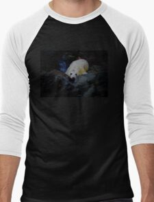 DON'T LEAVE ME OUT OF YOUR FOCUS Men's Baseball ¾ T-Shirt