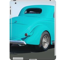 1936 Ford Coupe 3Q Rear iPad Case/Skin