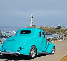 1936 Ford Coupe 'Shoreline' I by DaveKoontz