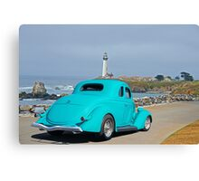 1936 Ford Coupe 'Shoreline' I Canvas Print