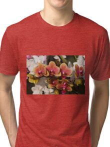 orchid in bloom Tri-blend T-Shirt