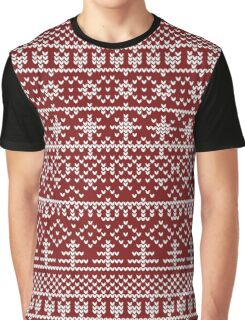 Christmas red pattern Graphic T-Shirt
