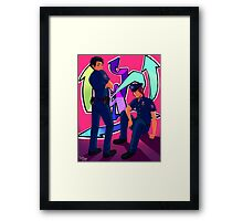 Future Cops Framed Print
