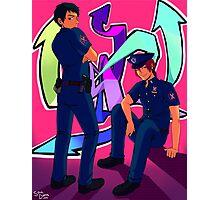 Future Cops Photographic Print