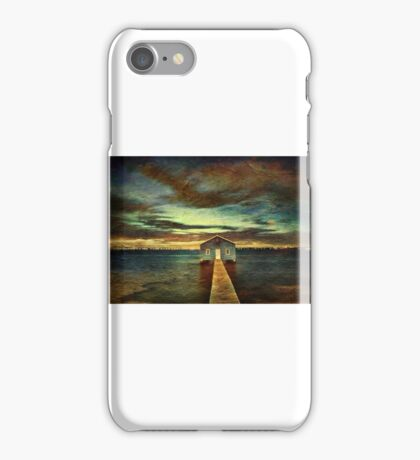 Crawley Boat shed 03 iPhone Case/Skin