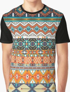 Native american colorful  tribal pattern  Graphic T-Shirt