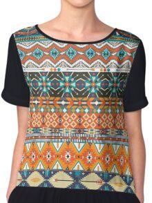 Native american colorful  tribal pattern  Chiffon Top