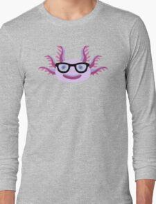 Too Many Nerdy Axolotls Long Sleeve T-Shirt