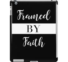 Framed By Faith iPad Case/Skin