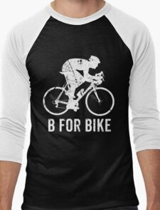 Bicycle-B For Bike Cycling Lovers Gift Funny Men's Baseball ¾ T-Shirt