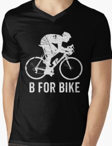 Bicycle-B For Bike Cycling Lovers Gift Funny Mens V-Neck T-Shirt
