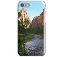 Zion NP Utah iPhone Case/Skin