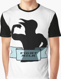 Fight Milk Graphic T-Shirt